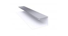 Металлические доборные элементы для фасада в Ступино Планка П-образная/завершающая сложная 20х30