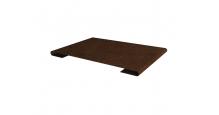 Металлические доборные элементы для фасада в Ступино Планка стыковочная простая 60мм