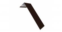 Металлические доборные элементы для фасада в Ступино Планка лобовая/околооконная простая 190х50